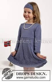 <b>Платье</b> спицами с <b>длинным рукавом</b> и повязка | Узоры для ...