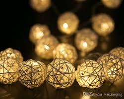 Decorative Woven Balls Gorgeous White Decorative Light Balls White Vine Woven Ball String Light 32