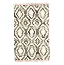 wool kilim rug west elm tile aquamarine