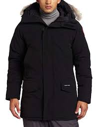 Canada Goose Men s Langford Parka,Black,Small