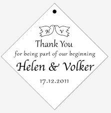 thank you tags for wedding favors thank you tags stickers wedding stickers personalized gift