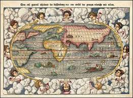 sea monster world map. Contemporary Monster Image Is Loading 1550seamonstersworldmapwithand12 To Sea Monster World Map T