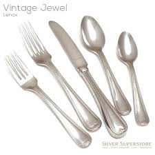 lenox vintage jewel flatware. Interesting Flatware Vintage Jewel Five Piece Set Inside Lenox Vintage Jewel Flatware T