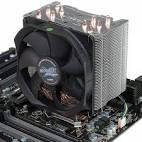 Кулер Zalman CPU Cooler CNPS10X Performa 1156/1366/775/754/939/940, 17-24 Дб, алюміній + мідь, PWM