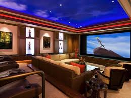 Theater Room Decor  Best Ideas About Media Room Design On - Painted basement ceiling ideas