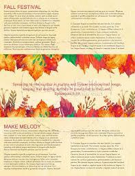Weekly Newsletter Template Inspiration Fall Newsletter Templates Vaydileeuforicco