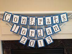 Congrats Grad Bunting Graduation Banner Graduation Decorations