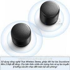 Mã 267ELSALE hoàn 7% đơn 300K] Loa Bluetooth Anker SoundCore Mini 2 - A3107  - Loa Bluetooth Thương hiệu ANKER