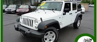 2018 jeep wrangler unlimited sport in white