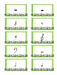 Musical Note Cards Expanded Deck
