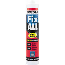 evo stik multi purpose impact instant contact adhesive ml soudal fix all high tack adhesive white 290ml