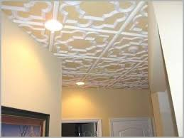 Various Glue Up Ceiling Tiles Over Popcorn A Unique White Two Tones Color  Interior Cheap Canada
