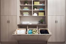 Modern laundry room storage