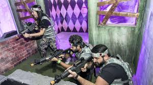 Blazzes Hair Design Thirroul Paintball Meets Laser Tag First Look At Dubais Latest