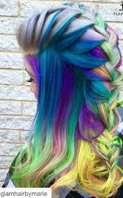 Coloured Hair Dye
