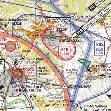 Italy No 1 Vfr Flight Chart 1 500 000 Scale