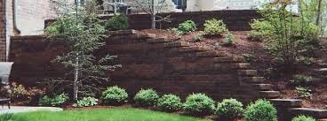Small Picture Burkes Landscape Retaining Wall Systems LLC Landscaping