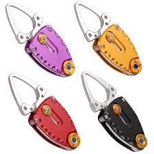 portable mini fishing lip grip 95mm 42g 4 colors aluminum fish controller fishing grabber grips fishing tackle tools pesca peche