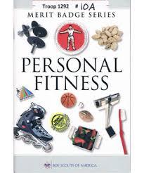 personal fitness merit badge pamphlet
