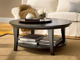 round coffee table ikea shelves