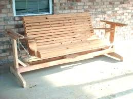patio gliders and swings at porch glider wooden swing bench