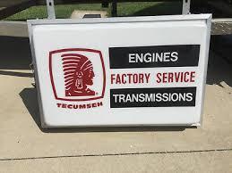 VINTAGE DEALER TECUMSEH Engines Factory Service Transmissions ...
