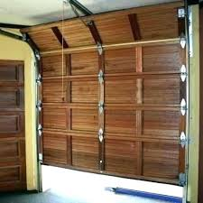 build your own garage door wood