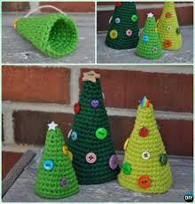 Free Crochet Christmas Tree Patterns Enchanting Crochet Christmas Tree Free Patterns For Holiday Decoration