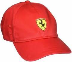 Puma Adults Unisex Scuderia Ferrari Fanwear Bb Cap Rosso Corsa 021774 01 Ebay