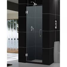dreamline unidoor 23 in frameless hinged shower door for