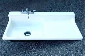 porcelain sink repair basin kitchen kit