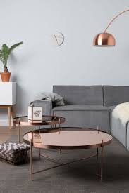 copper round coffee table copper coffee table design ideas for the living room discover