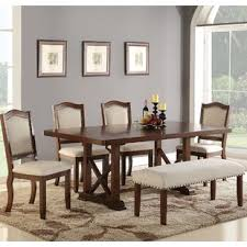 modern 6 piece dining set