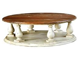 inspiring distressed round coffee table elegant medium size of pertaining to 5