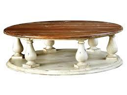 inspiring distressed round coffee table elegant medium size of pertaining to 5