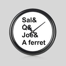 Impractical Jokers Sal Q Joe & Ferret Round Wall Clock Bedroom Kitchen Home  New