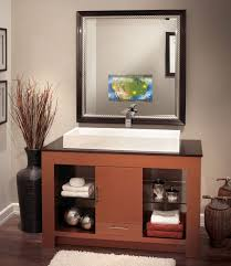 Made To Order Bathroom Cabinets Vanishing Vanity Tv Mirrors Scura