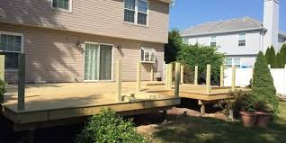 Backyard Decking Designs Custom 48 Deck Building Guide DIY Wood Deck Construction HomeAdvisor