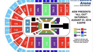Cody Rhodes Reveals Seating Chart Photo Ticket Prices
