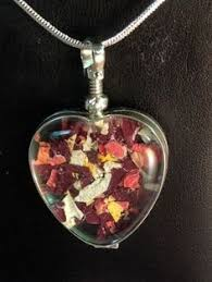 confetti style memorial flower jewelry memorial flower preservation by ermilk lane memorial flowers how
