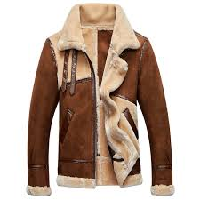 fashion vintage mens fur leather jackets and coats