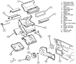 Repair guides heater air conditioning heater core 86 camaro 89 camaro heater box diagram
