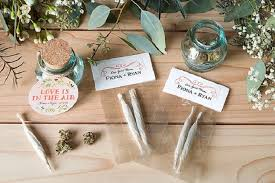 7 Cannabis Wedding Favors That Are Perfect For Your Weed Wedding | The Babe  Report