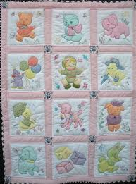 Custom Made Vintage Baby Quilt | Baby | Pinterest | Babies ... & Custom Made Vintage Baby Quilt Adamdwight.com