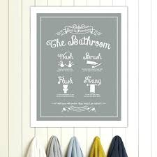 bathroom wall art uk amazon