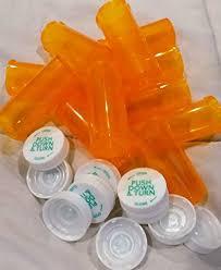 Pill Bottle Size Chart Amazon Com Plastic Prescription Vials Bottles 25 Pack W