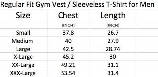 Wish Size Chart Dont Wish Black Vest