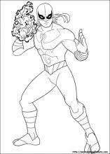 Disegni Di Ultimate Spider Man Da Colorare