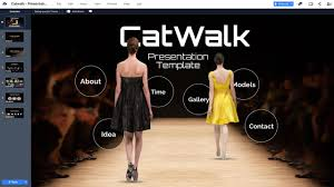 Runway Design Ppt Catwalk Fashion Prezi Template Prezibase