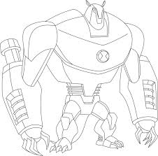 ben 10 coloring pages new kids drawing book at getdrawings
